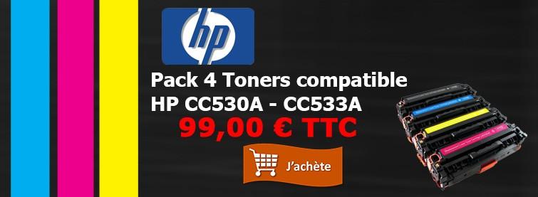 HP Pack Toners