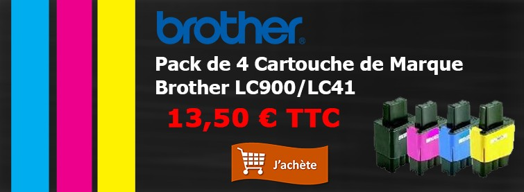 Brother Pack Cartouche