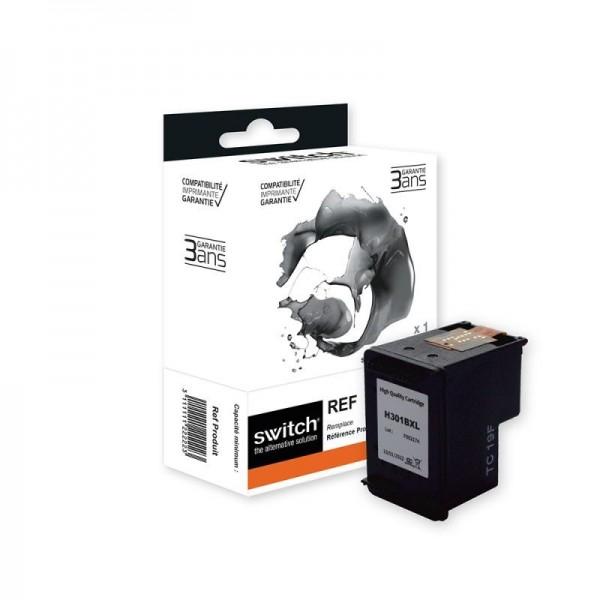 HP 301XL - remanufacturé Switch - noir - cartouche d'encre
