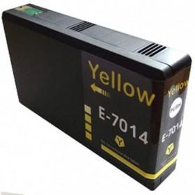 T7014  Jaune  Cartouche Compatible Epson Premium