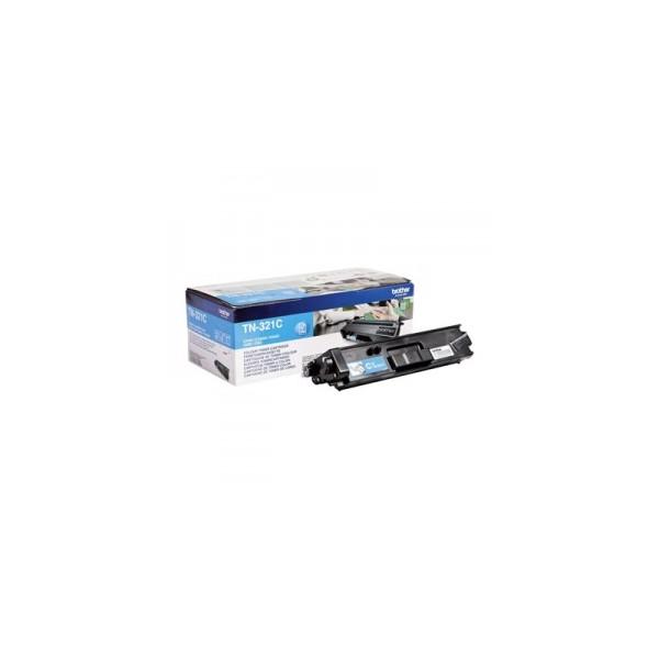 TN-321C cyan Toner laser origine Brother - 2500 pages