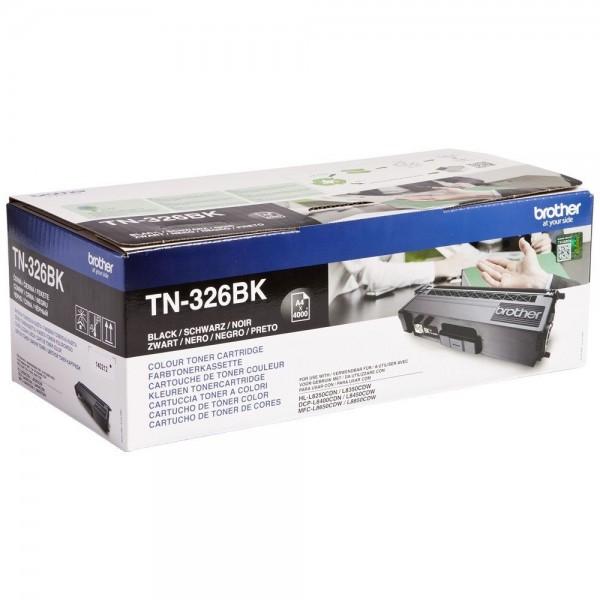 TN-326BK Noir  Toner laser origine Brother  - 4000 pages