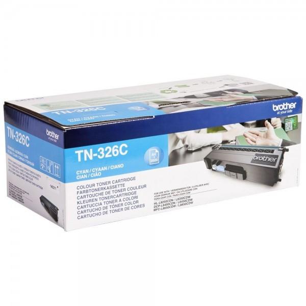 Toner laser origine Brother TN-326C Cyan - 3500 pages