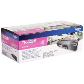 Toner laser origine Brother TN-326C magenta - 3500 pages