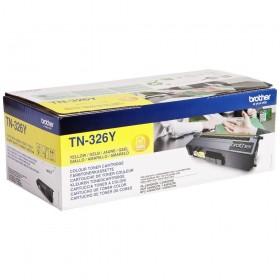 Toner laser origine Brother TN-326Y jaune - 3500 pages