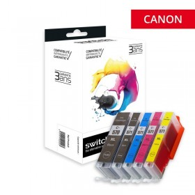 Pack Cartouches encre Compatible CANON PGI570/CLI571XL - Marque SWITCH