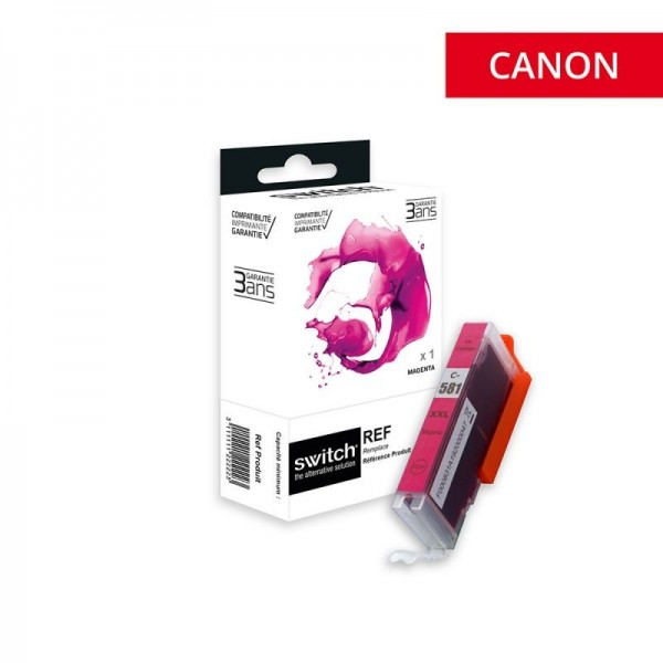 CLI-581 XXL Magenta Cartouche encre compatible Canon  haute capacité-marque switch