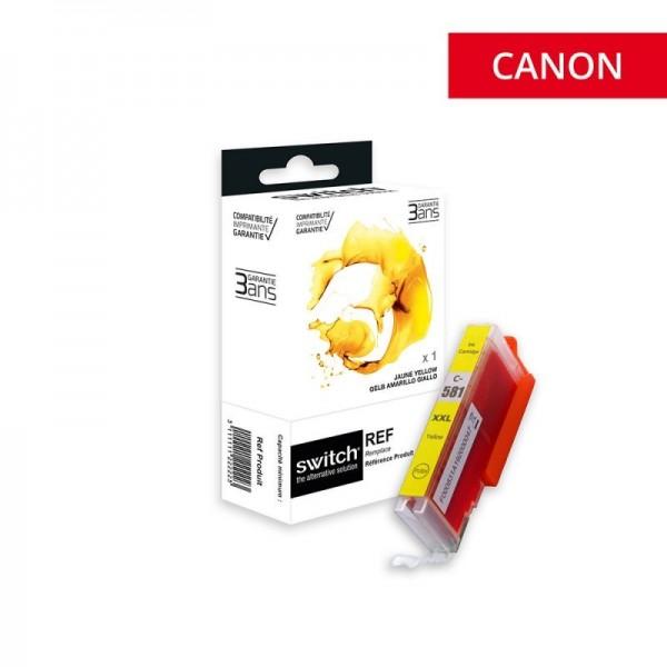 CLI-581 XXL Jaune Cartouche encre compatible Canon  haute capacité-marque switch