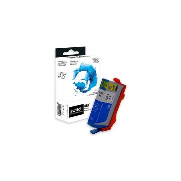 HP364 XL Cyan Cartouche Compatible Grande Capacité - Switch