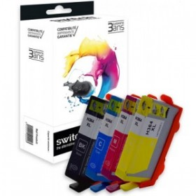 HP 364 pack 04 Cartouches d'encre Compatibles - Switch