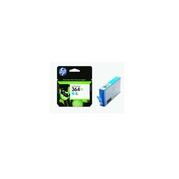 HP 364 XL / CB323EE Cyan Cartouche d'encre origine grande capacité