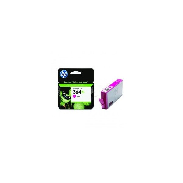 HP 364 XL / CB324EE Magenta Cartouche d'encre origine grande capacité