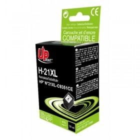 HP21  XL  Noire  Cartouche Remanufacturée  Grande Capacité  UPRINT