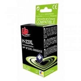 HP22 Couleur  Cartouche Remanufacturée  Grande Capacité UPRINT