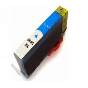 Compatible HP364  XL Cyan  Cartouche Remanufacturée  Grande Capacité