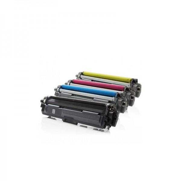 Pack 04 Toners Compatible Brother (1 x noir,1 x Cyan,1 x Magenta,1 x Jaune)  TN-241 - TN245