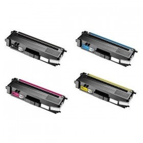TN-325 Pack 4 Toners Compatible Brother (1 x noir,1 x Cyan,1 x Magenta,1 x Jaune)