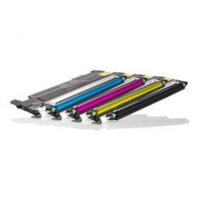Pack Promo Cartouche de Toner Remanufacturée Samsung (1x Noir,1x Cyan,1x Magenta,1x Jaune) 4 unités CLT-4072S / P4072C