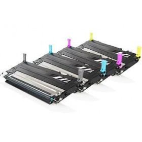 Pack Promo Cartouche de Toner Remanufacturée Samsung (1x Noir,1x Cyan,1x Magenta,1x Jaune) 4 unités CLT-4092S