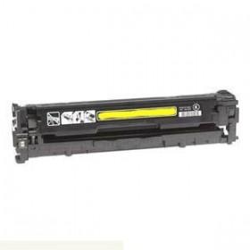 CB542A/ 125A Toner Compatible HP  Jaune