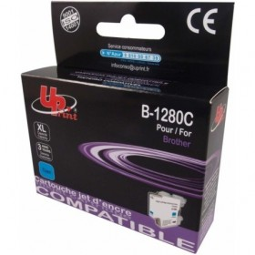 LC1280XL / LC1240 / LC1220  Cyan Cartouche Brother Compatible Premium UPRINT