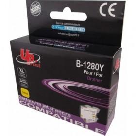 LC1280XL / LC1240 / LC1220  Jaune Cartouche Brother  Compatible Premium UPRINT