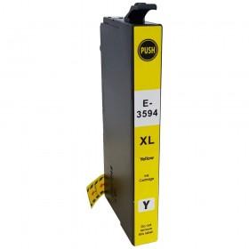 35XL / T3594  Cartouche générique équivalente au modèle Epson Cadenas jaune