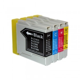 LC970 : Pack 4 Cartouche Compatible Brother 4 Couleurs