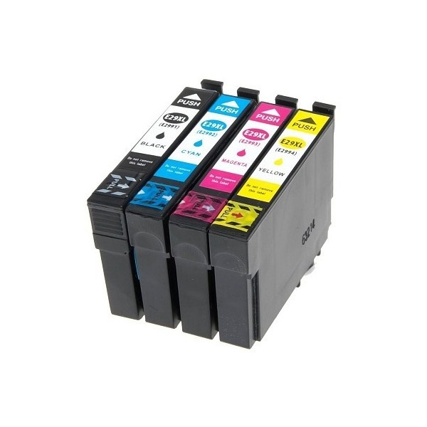 T2996 XL / T29XL  Pack 4 Cartouches Compatibles EPSON - Série Fraise