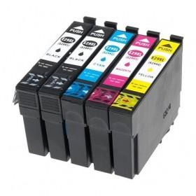 T2996 XL / T29XL Pack 5 Cartouches Compatibles EPSON - Série Fraise