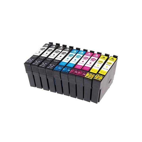 T2996 XL / T29XL Pack 10 Cartouches Compatibles EPSON - Série Fraise