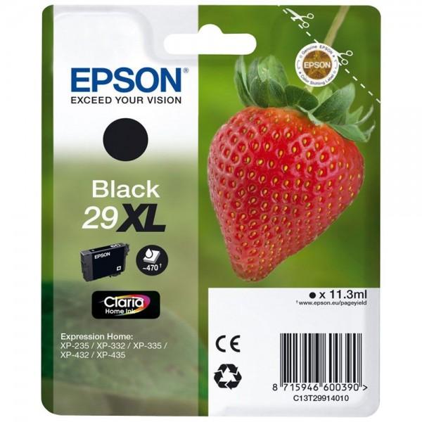 Cartouche  d'encre EPSON T29 - Fraise noir original   T2991