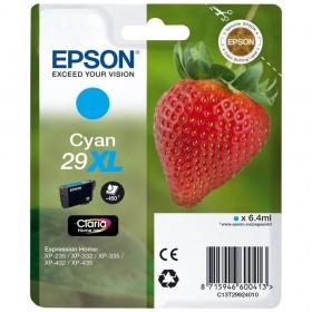 Cartouche d'encre EPSON T29 - Fraise cyan original T2992