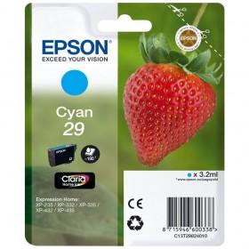 Cartouche d'encre Epson T29 cyan - 29 Fraise original