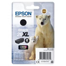 Epson T26XL Ours Polaire - à rendement élevé - cyan - originale - cartouche d'encre