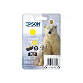 Epson T26XL Ours Polaire - à rendement élevé - jaune - originale - cartouche d'encre