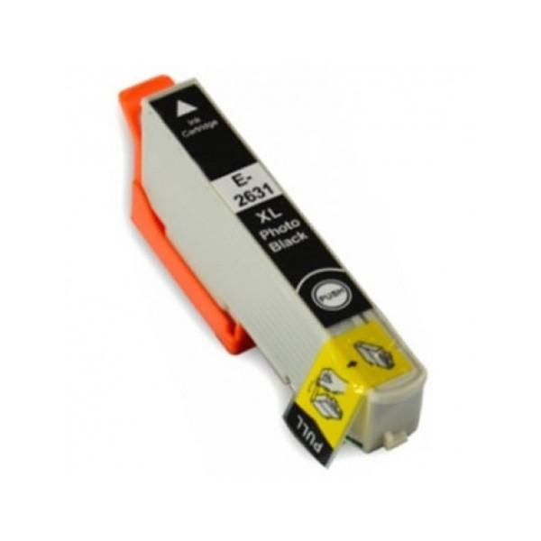 T2631 XL  Noire Photo Cartouche Epson  Compatible Premium Grande Capacité