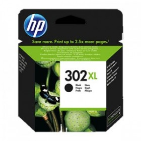 HP 302 XL - F6U68AE Noir Cartouche d'encre origine