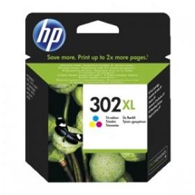 HP 302 XL - F6U67AE Couleurs Cartouche d'encre origine